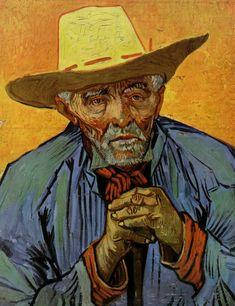 Van Gogh Ritratto di Patience Escalier Arles, Agosto 1888 Olio su tela, 69x56 cm Collezione Stravors S. Niarchos