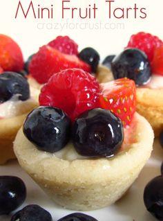 mini fruit tarts   crazyforcrust.com