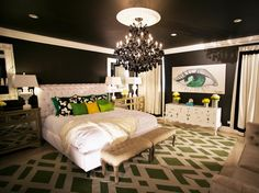 Bold and Beautiful Bedrooms | Bedroom Decorating Ideas for Master, Kids, Guest, Nursery | HGTV