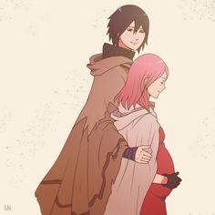 sasusaku travelling together