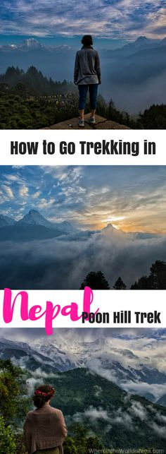 Nepal's Poon Hill trek is one of the most beautiful treks you will ever get to do! Get to Nepal. Get trekking!