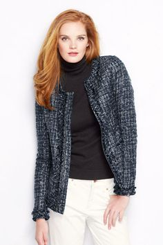 Women's Textured Jacket from Lands' End