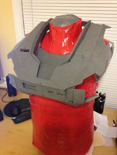My first foam build [[Reach Armor WIP]] Pic Heavy!
