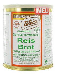 Reisbrot Bio glutenfrei, geschnitten