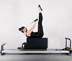 Pilates reformer with box fav new work out
