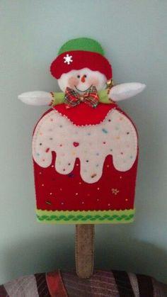 63 (360x640, 141Kb) Felt Christmas Ornaments, Christmas Snowman, Christmas Decorations, Holiday Decor, Christmas Ideas, Felt Crafts, Diy And Crafts, Christmas Craft Projects, Candyland