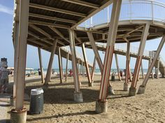 """Praia de Lido, uma das locações do filme """"Morte em Veneza"""". Post: http://www.cinetour.com.br/CineTour/filmeitens/index/104"""