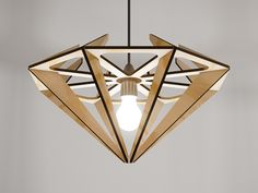 Gem Pendant Light Design Josh Ford & Stefan Purcell Manufacture Stefan Purcell