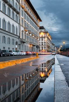Reflections of Florence, Italy