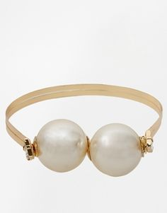 Limited Edition Big Faux Pearl Choker