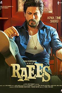 Raees (2017) Hindi Movie Online in HD - Einthusan  Shah Rukh Khan ,Mahira Khan ,Nawazuddin Siddiqui Directed by	Rahul Dholakia Music by Songs:  Ram Sampath Jam 8 OmGrown  Kalyanji–Anandji Background Score: Ram Sampath 2017 [UA] ENGLISH SUBTITLE