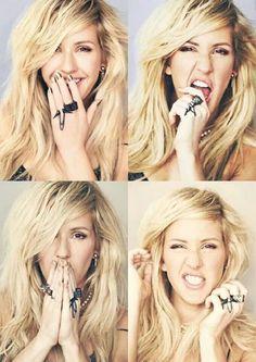 Ellie Goulding... Woman crush:)