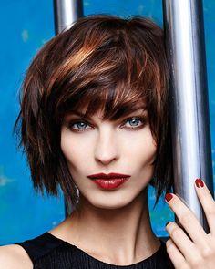 Najväčší galéria účesov pre krátke vlasy – nájdite si svoju inšpiráciu pre krátke  vlasy v aktuálnej fff840bca5d