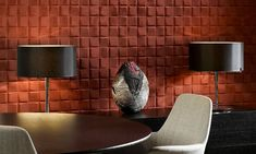 Enigma, an exquisite three-dimensional textile wallcovering on non-woven backing Ikea Frames, Wall Covering, Kitchen Wall Stickers, Divider Wall, Wall Light Shades, Wall Shelves Living Room, Wall Coverings, Living Room Mirrors, Cool Walls