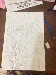 """Konjiki No Yami from """"To Love Ru"""" Artwork"""