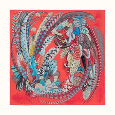 Scarf in silk twill with hand-rolled edges silk). This essential Hermès accessory complements any outfit.It can be worn many ways - around your neck, as a top, at the waist or as a headscarf! Made in France