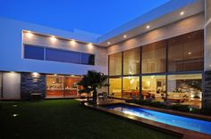 Modern Design EV House With Exotic Lighting Front View Modern House With  Tiles Wall Decor U2013 Home   Greg Pappanastos   Picasa Web Albums Amazing Design