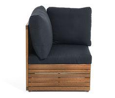 Lounge-Möbel-Element, Eckteil