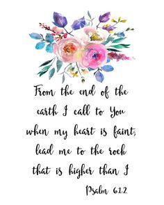 When I feel faint of heart I love this verse! Great inspirational Bible quote to download, print, frame. #wisdomquotesbible