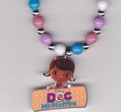 Doc McStuffins Necklace. $10.00, via Etsy.