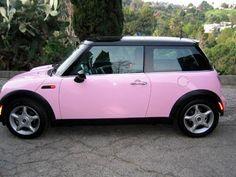 Conseguir en rosa - Todo rosa: rosa Mini Cooper
