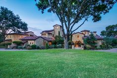 Tuscan style estate :: Dallas, Texas