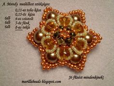Marilla Jewelry Design: Mendy medál mintája