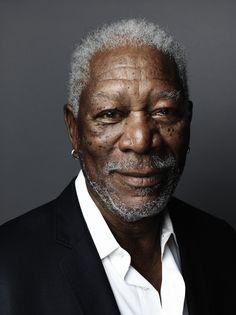 Morgan Freeman -  Photo by Marco Grob