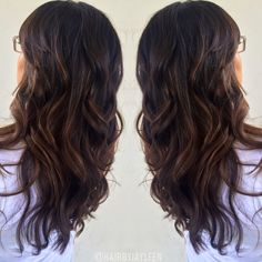 60 chocolate brown hair color ideas for brunettes chocolate brown caramel balayage highlights chocolate haircolor warm brown hair brunette hair painting pmusecretfo Image collections