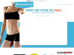 Product Name: Venus Factor   Click here to get Venus Factor at discounted price while it's still available…    All orders are protected by SSL encryption – the highest industry standard for online security from trusted vendors.  Venus Factor is backed with a 60 Day No Questions A...