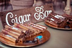 Cigar bar: lay out a number of lighters and don't forget the clippers.