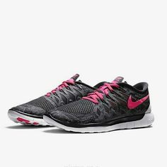 "Nike Free 5.0 Print Color: Anthracite Black/ White/ Hyper Pink  Condition: Brand new, never worn, no tags or box  * no trades/holds * anyone asking ""lowest"" will be ignored  * reasonable offers considered but ONLY using the offer function! Nike Shoes Athletic Shoes"