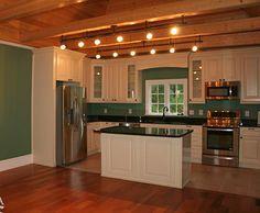 Remodeled kitchen in a historic Senoia, GA home.