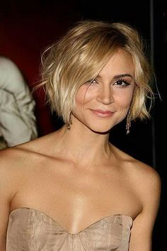 Shaggy Bob Hairstyle Trends For Short Hair 2017 44