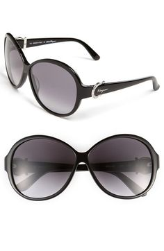 398ee0a152 Salvatore Ferragamo 59mm Classic Sunglasses available at  Nordstrom  Sunglasses Shop