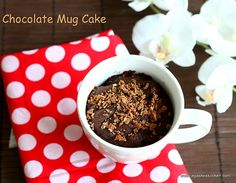 Chocolate-mug-cake (might use more sugar next time and put marshmallows in before it goes into the microwave)