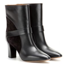 Leather And Suede Boots ¦ Chloé ∫ mytheresa