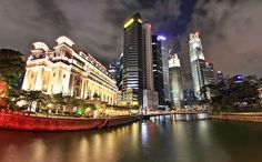 About the food of Singapore (Global Table Adventure) (Photo credit: Downtown Raffles Place by Dem Romero)