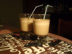 Mleczny drink z Marsa