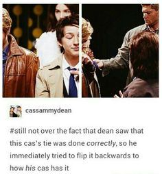 Dean and Cas Castiel, Supernatural Destiel, Misha Collins, Dean Winchester, Jensen Ackles, Dean And Cas, Super Natural, Superwholock, Doctor Who