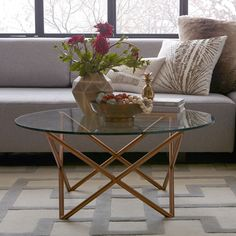 Metal Spindle Coffee Table