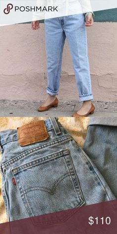Vintage Levi's 28x28 Amazing vintage Levi's 28 inch waist 28 inch inseam. Perfectly faded light denim. Make me an offer! (Posted as Reformation for viability) Reformation Jeans