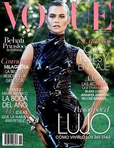Behati Prinsloo for Vogue Mexico - November 2013