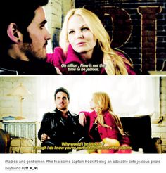 "#OnceUponATime 4x17 ""Best Laid Plans"" - Emma and Hook"