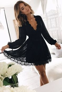#spring #outfits The Perfect Little Black Dress
