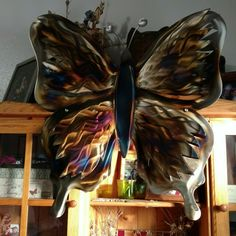 We can make any design to custom specifications. Everything is made in the USA Twin Falls Idaho. The patterns and automotive grade paint we use shows a depth and characteristic that isn't seen in most art. Country Wall Decor, Metal Wall Art Decor, Metal Wall Sculpture, Metal Tree Wall Art, Cottage Kitchen Decor, Cottage Art, Butterfly Wall Decor, Butterfly Decorations, Custom Metal Art