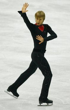 Evgeni Plushenko: a truly amazing Russian 3 time, soon to be 4 time, Olympic medalist (2 silver & 1 gold).