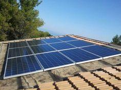 Impianto fotovoltaico ad ANCONA da 3,00 kWp su copertura - 12 moduli BRANDONI in SILICIO POLICRISTALLINO da 250 Wp
