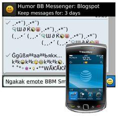 Simbol Autotext BBM Unik Lucu Terbaru Terpopuler