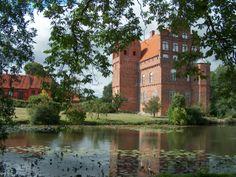 Hesselagergård slot på Fyn nær Gudme mellem Nyborg og Svendborg